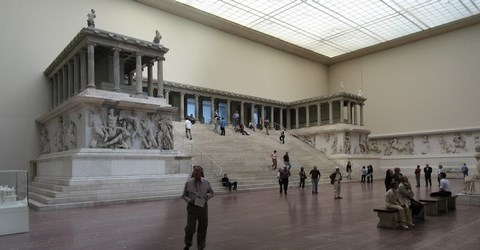 Pergamonmuseum geschlossen