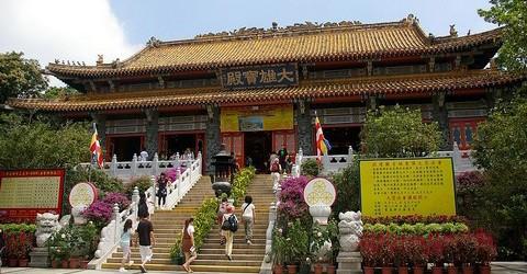 Po Lin Klooster Hong Kong